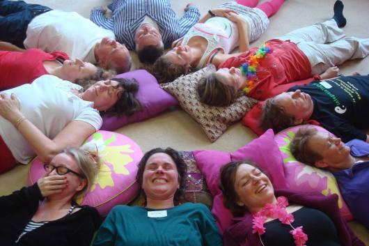 Lachworkshop vol positieve energie en verbinding